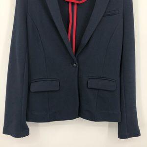 Banana Republic Jackets & Coats - Banana Republic Navy Blue Cotton Blazer XS